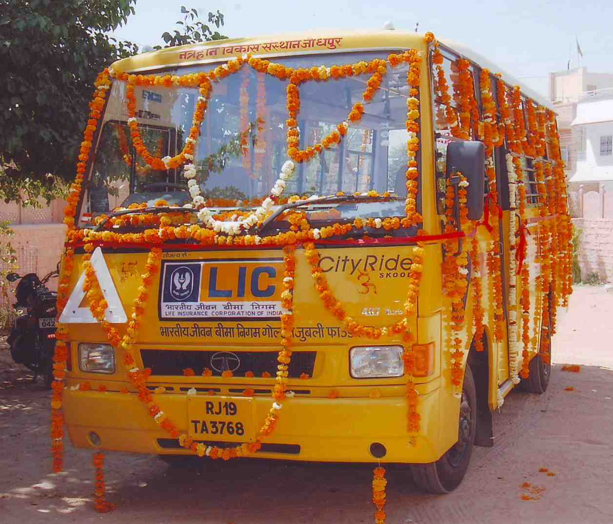 INAUGURATION OF BUS